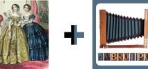 Sesión de fotografía antigua en la Casa Gótica de Mazcuerras